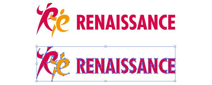 ルネサンス(RENAISSANCE)のロゴマーク