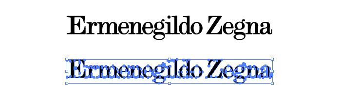 エルメネジルド・ゼニア(Ermenegildo Zegna)のロゴマーク