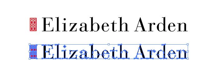 エリザベス・アーデン(Elizabeth Arden)のロゴマーク