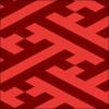 紗綾形柄のパターン素材