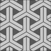組亀甲柄のパターン