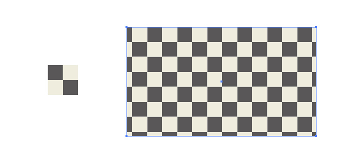 市松模様柄のパターン