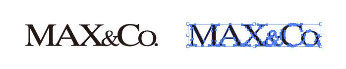 マックス&コー(Max&Co.)のロゴマーク