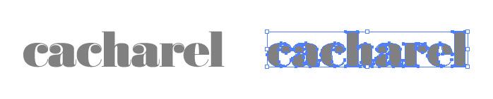 キャシャレル(Cacharel)のロゴマーク