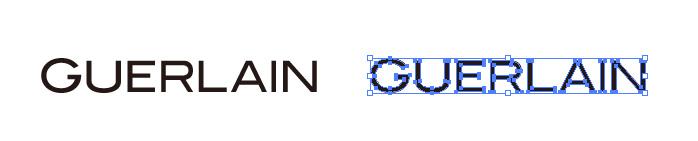 ゲラン(Guerlain)のロゴマーク