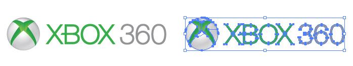 エックスボックス 360(XBOX360)のロゴマーク
