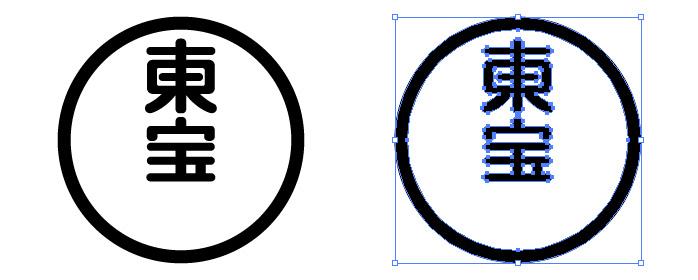 東宝株式会社のロゴマーク