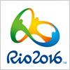 ブラジル、リオデジャネイロオリンピックのロゴマーク