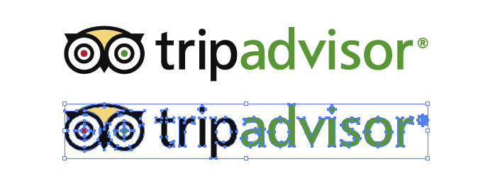 トリップアドバイザー(TripAdvisor)のロゴマーク