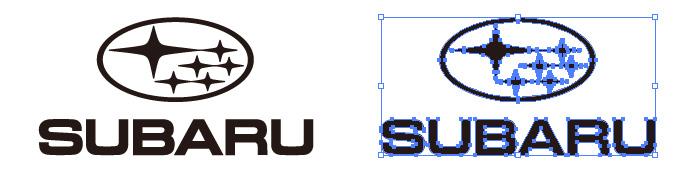 スバル(SUBARU)のロゴマーク