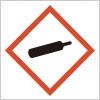 高圧ガスを表すGHSシンボルマーク