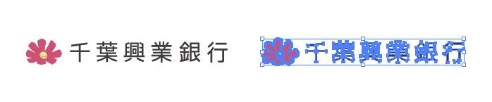 千葉興業銀行(ちば興銀)のロゴマーク