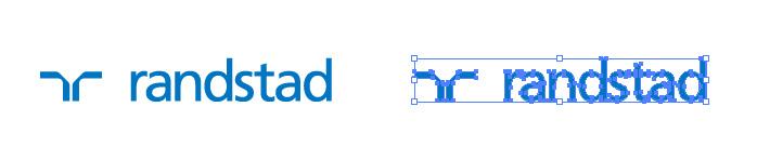 ランスタッド(randstad)のロゴマーク