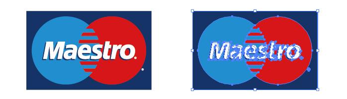 Maestro(マエストロカード)のロゴマーク