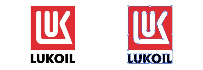 ルクオイル(LUKOIL)のロゴマーク