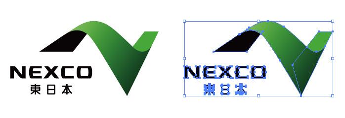 NEXCO ネクスコ 東日本のロゴマーク