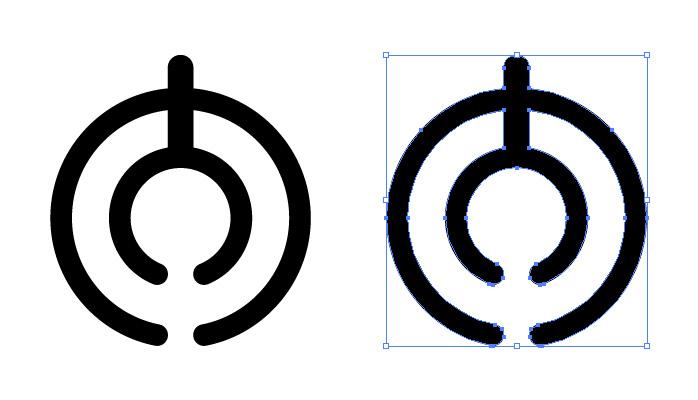 大分県章のロゴ・シンボルマーク