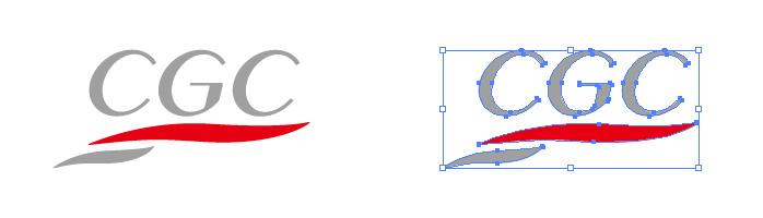 CGC(シージーシー)のロゴマーク