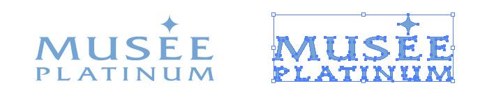 ミュゼプラチナムのロゴマーク