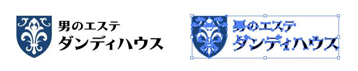 ダンディハウスのロゴマーク