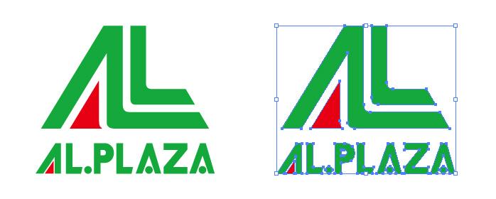 アル・プラザ アルプラザ AL.PLAZA ロゴマーク
