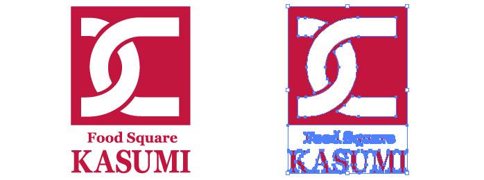 カスミ KASUMI ロゴマーク