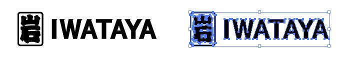 岩田屋(IWATAYA)のロゴマーク
