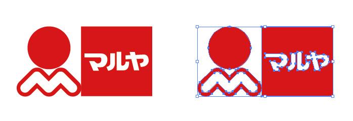 マルヤのロゴマーク