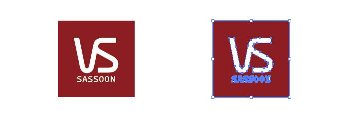 ヴィダル・サスーン ビダル VS sassoon ロゴマーク