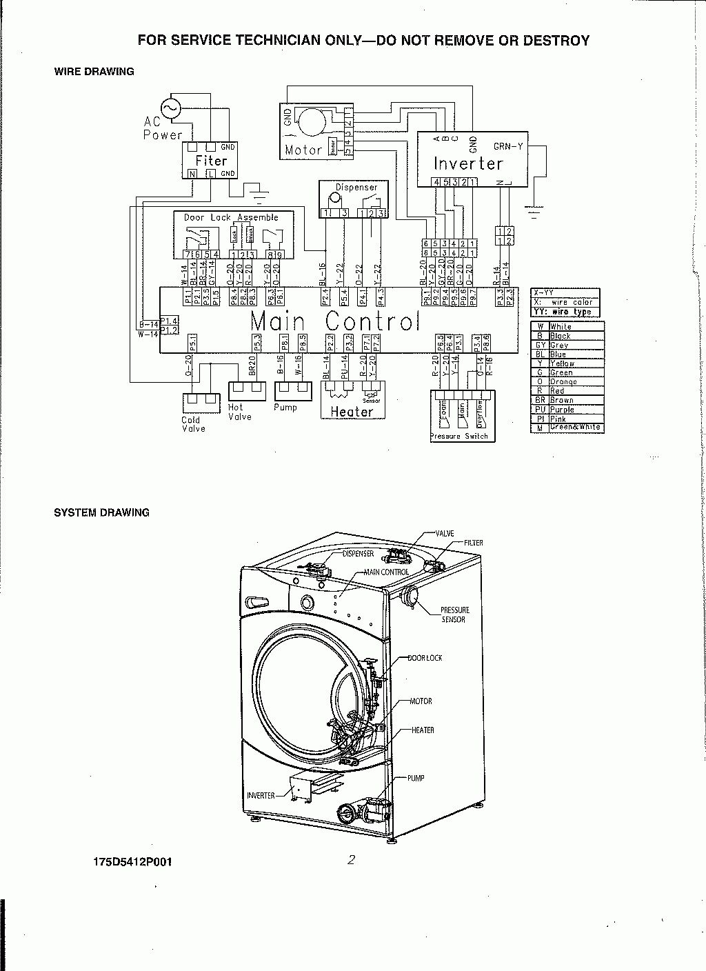 Diagram Washing Machine Parts Diagram Media Full Version