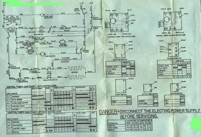 ge dryer wiring diagram wiring diagrams ge dryer wiring diagram printable diagrams base