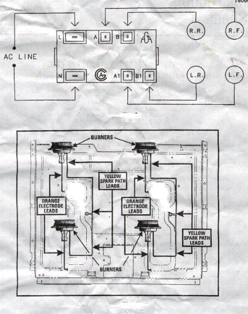 wiring diagram for gas top stove  honda rebel 250 1986