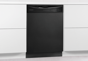 Black Frigidaire 24'' Built-In Dishwasher FFBD2411NB