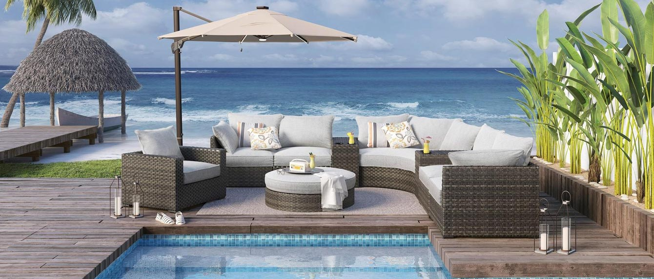 the best luxury outdoor furniture sets