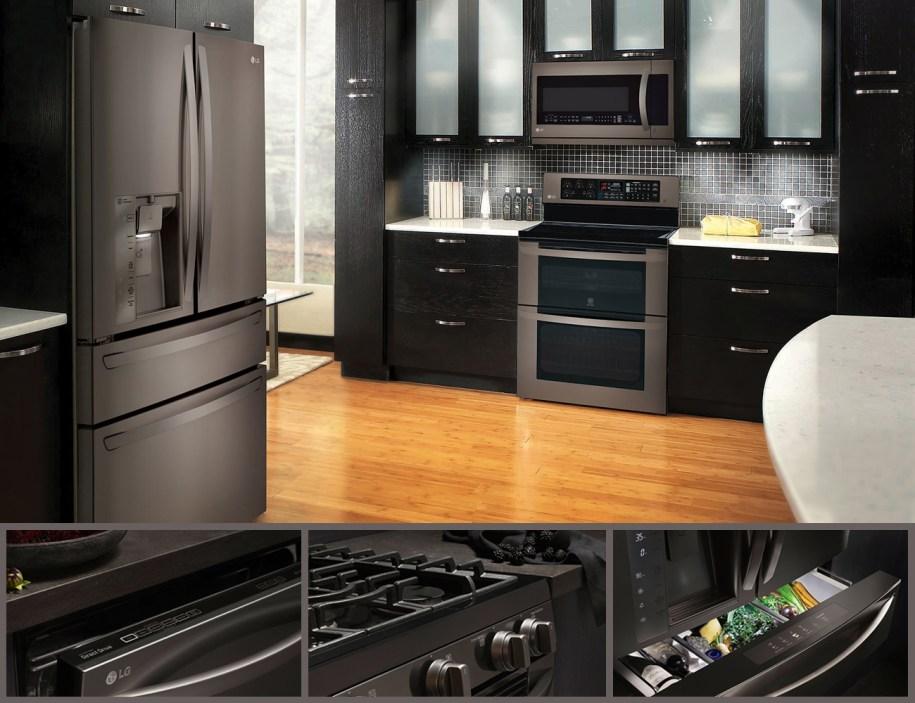 LG Black Stainless Steel Series | AppliancesConnection