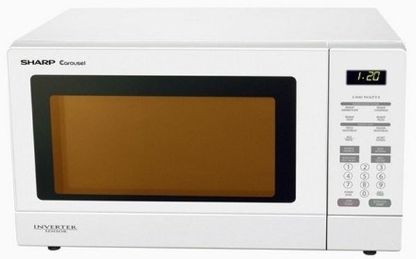 sharp r380zw microwave oven 1200w