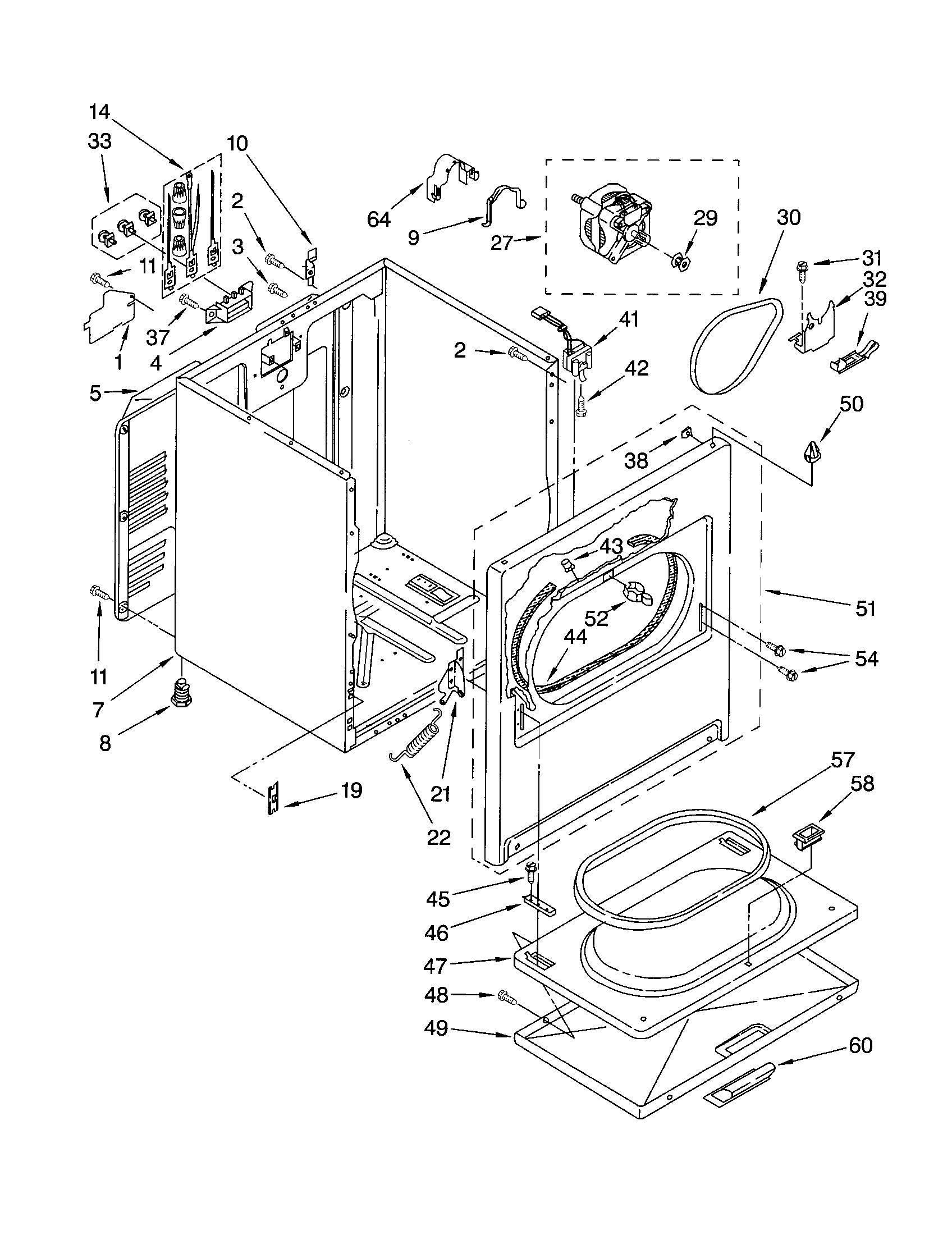 Kenmore Dryer Parts Manual