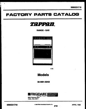 Tappan 3039910003 Range  Gas Timer  Stove Clocks and