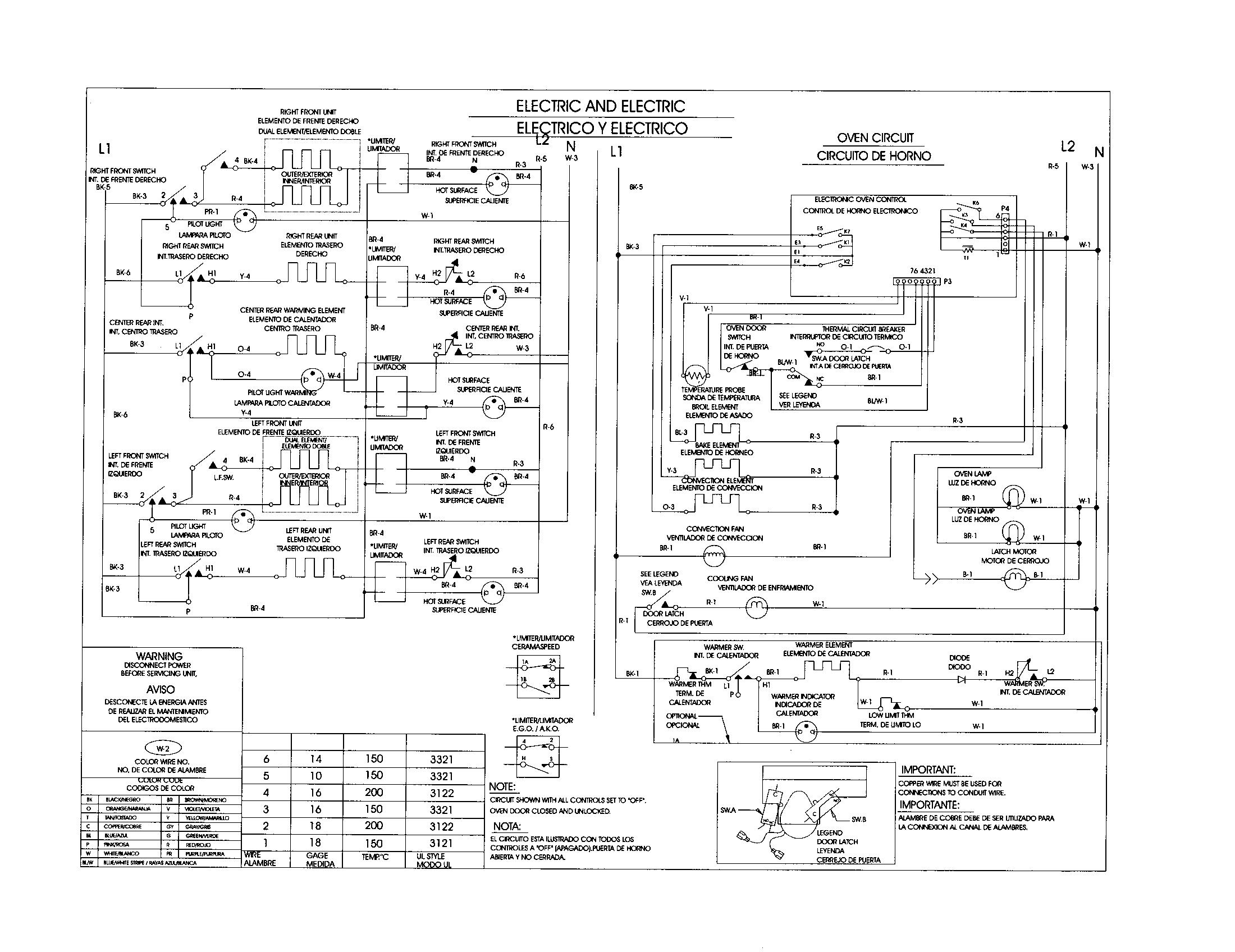 Kenmore Range Wiring Diagram Switch