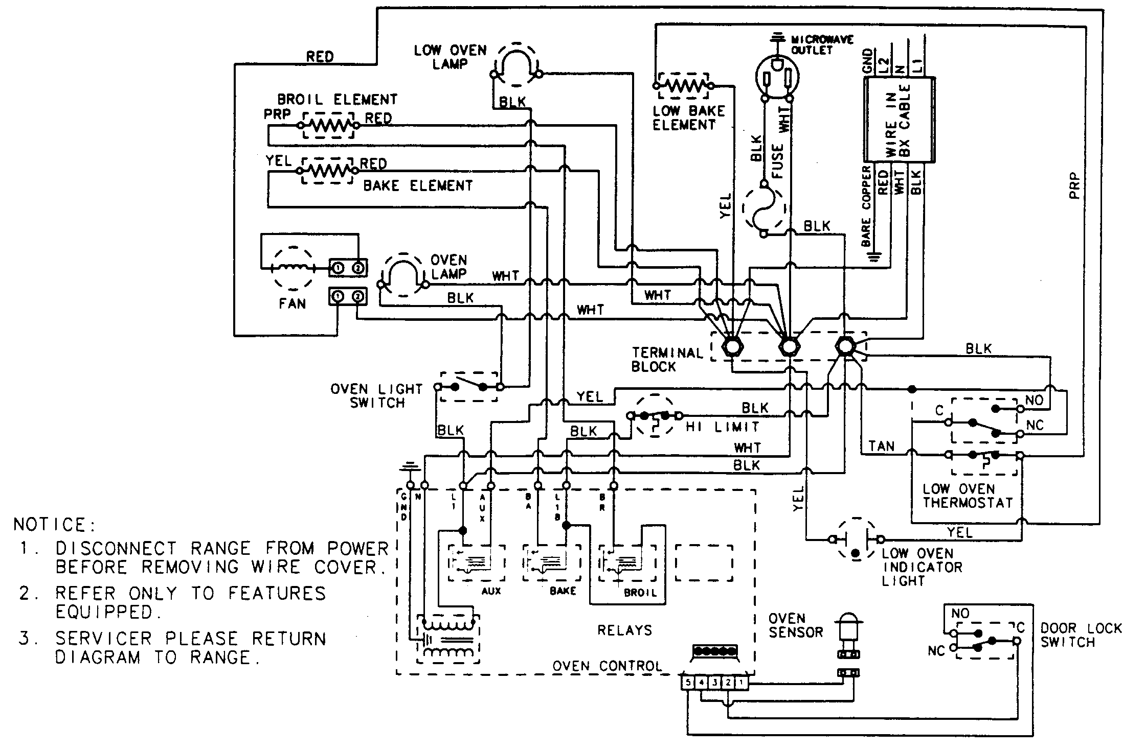Oven Wiring Diagram Images