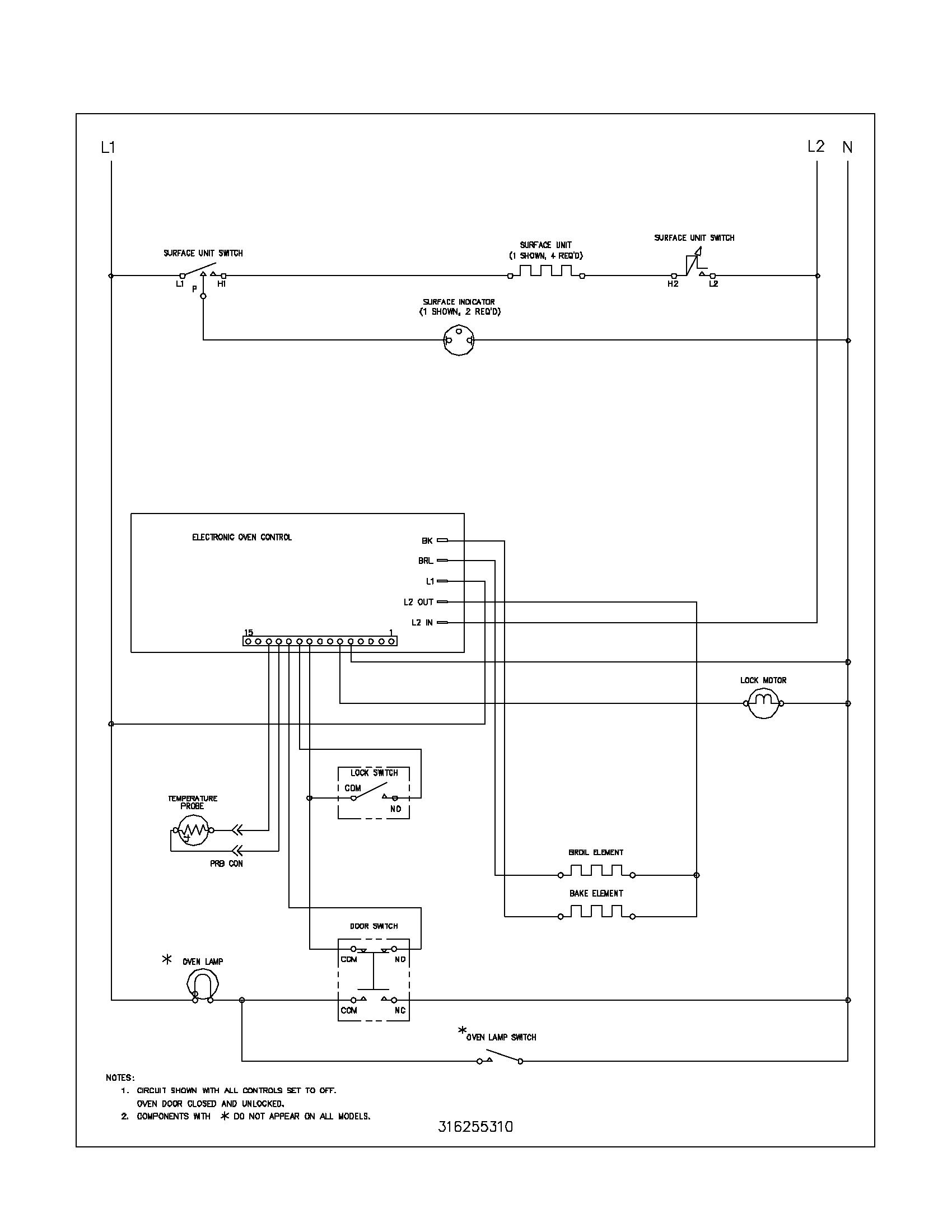 Tolle Frigidaire Bereich Schaltplan Zeitgenössisch - Schaltplan ...