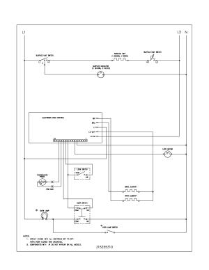 Frigidaire FEF352ASF Electric Range Timer  Stove Clocks