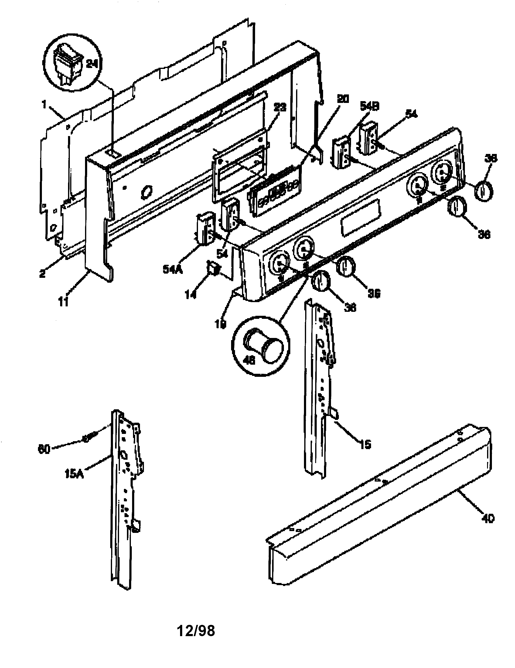 Frigidaire Frigidaire Dishwasher Parts Diagram