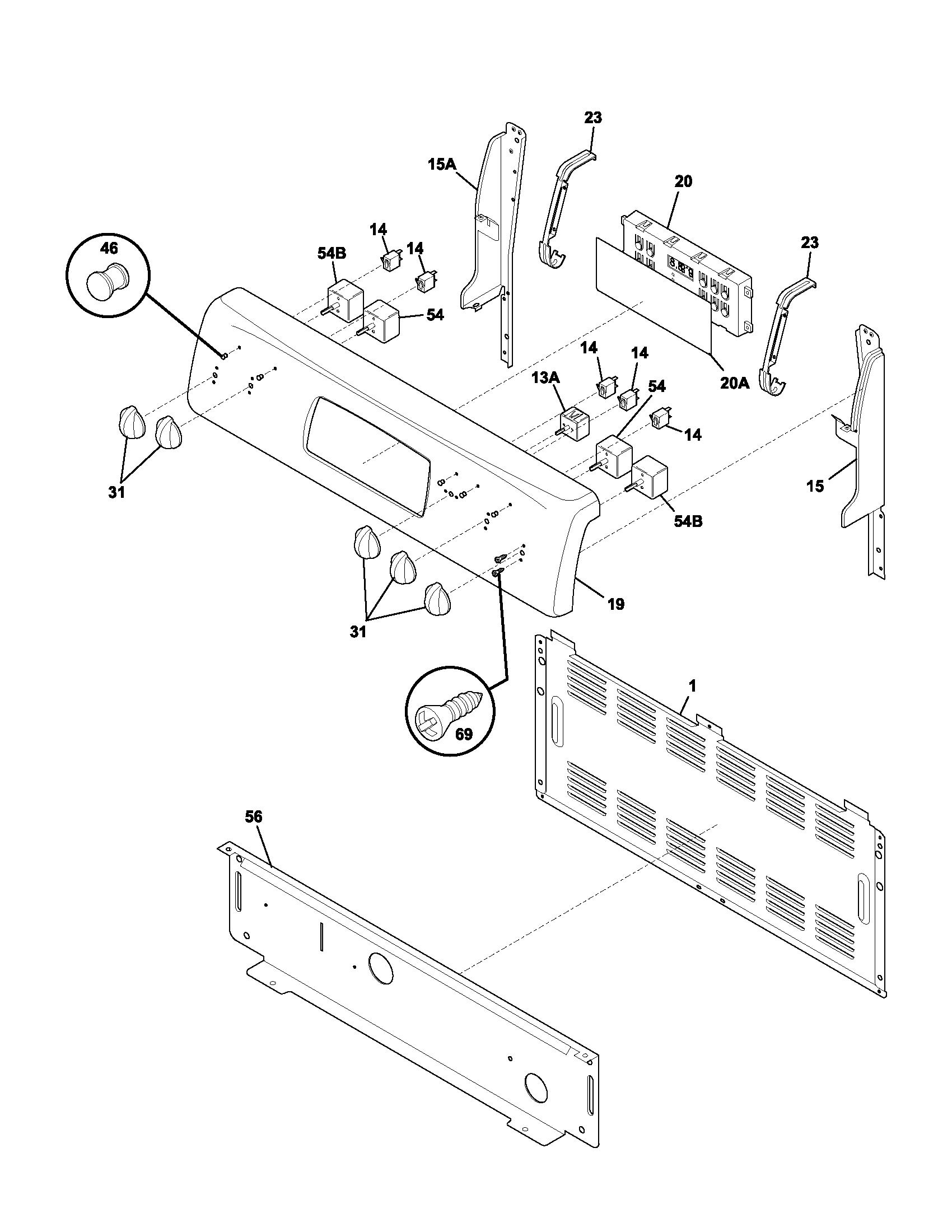 Whirlpool Fefl88acc Electric Range Timer