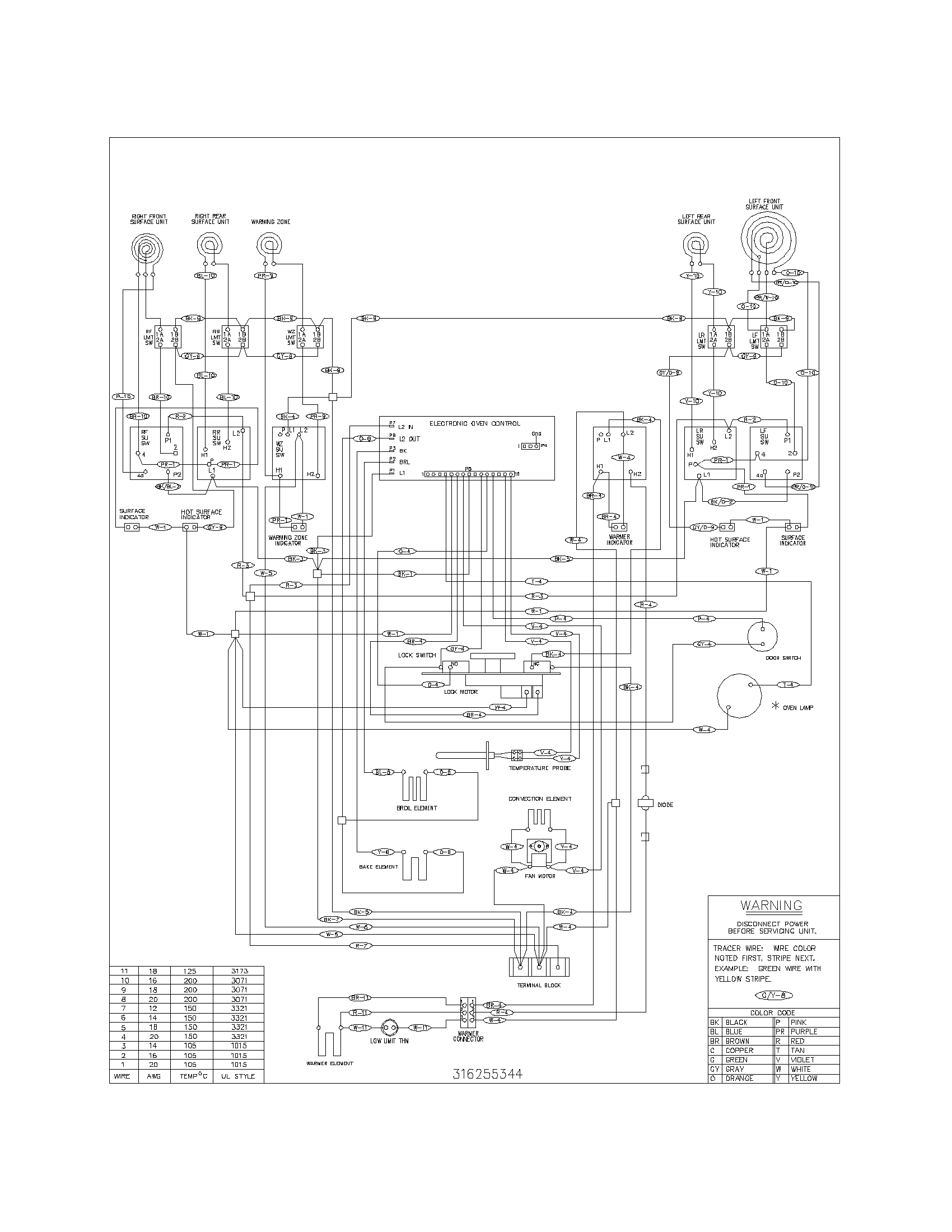 Service Wiring Diagram