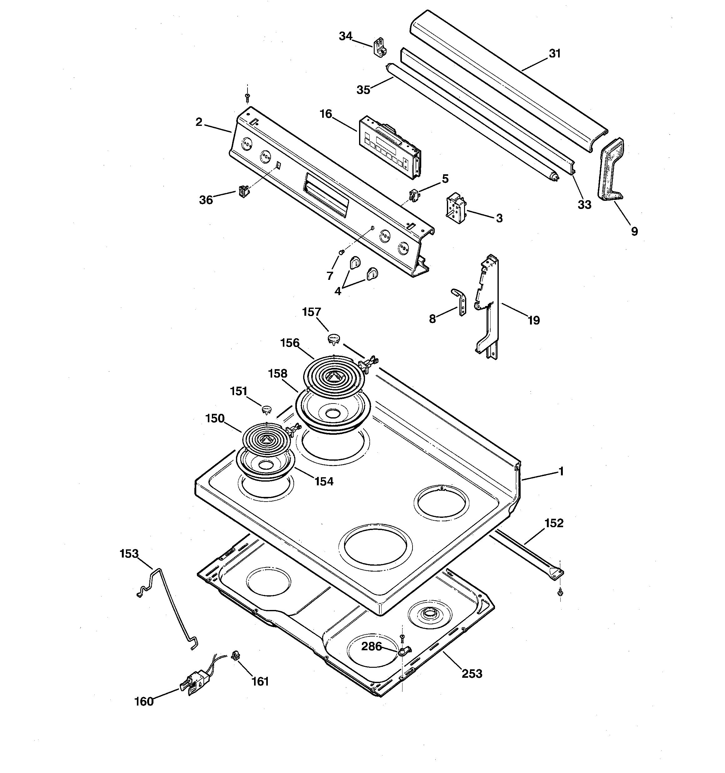 Refrigerators Parts Range Parts