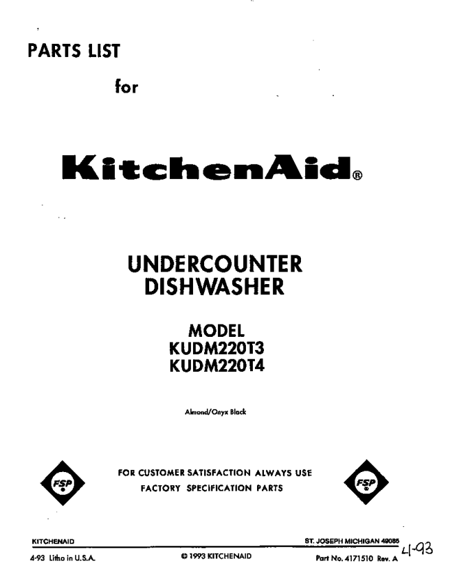 kitchenaid dishwasher circuit board kitchen room kudm220t4 dishwasher front cover parts diagram kitchenaid dishwasher