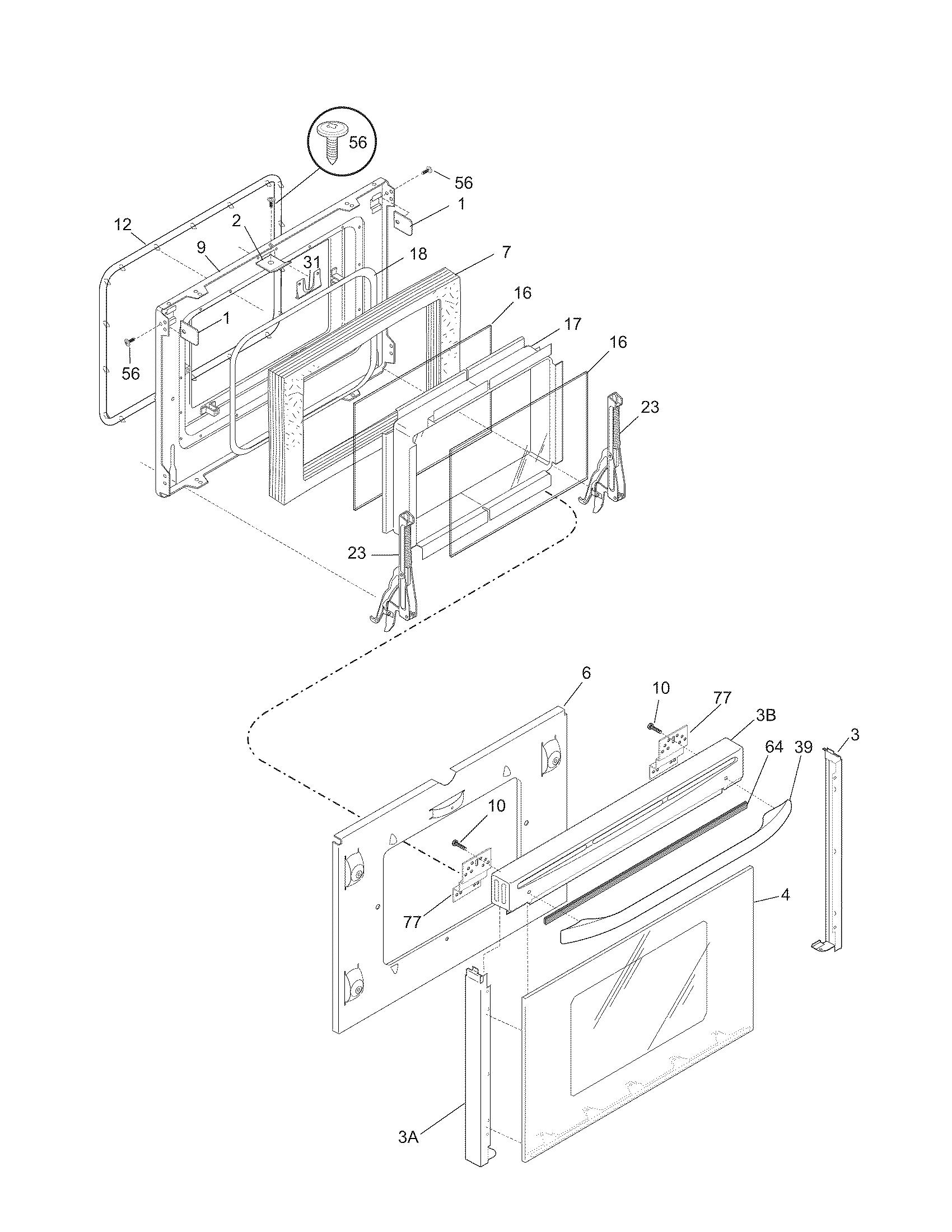 Frigidaire Pglef385cs2 Electric Range Timer