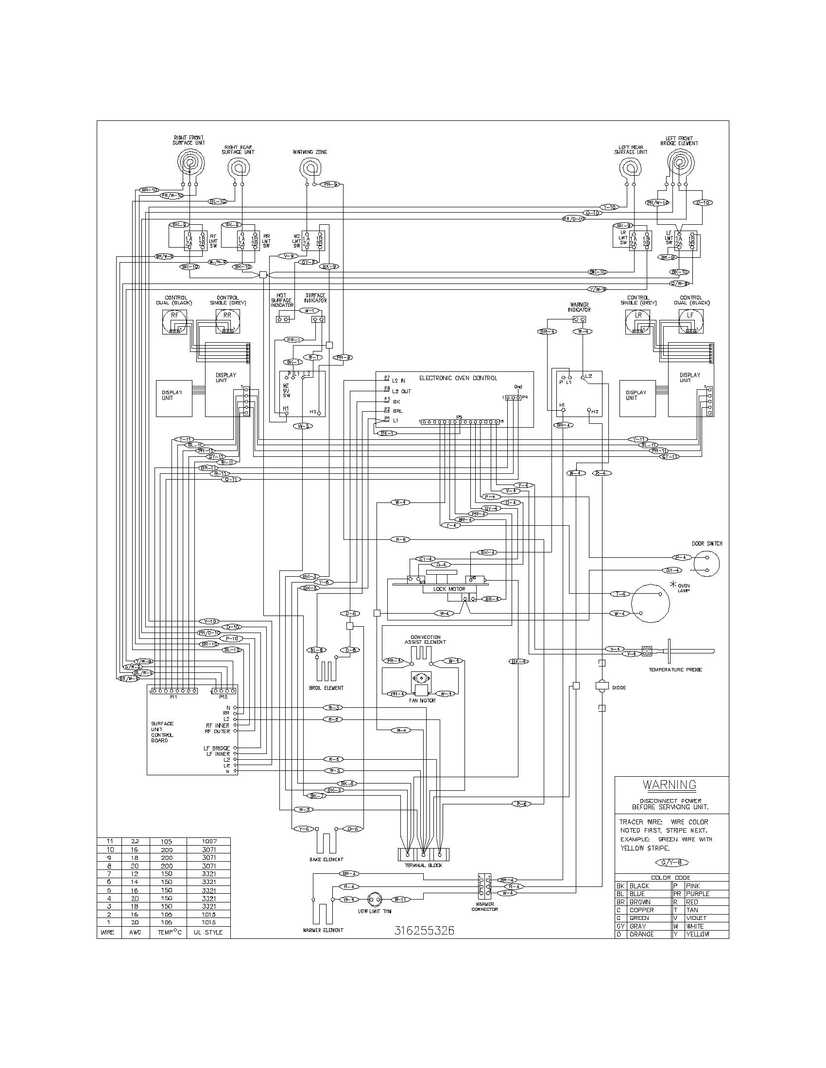 Frigidaire Plef398ccd Electric Range Timer
