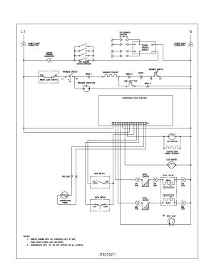Frigidaire PLGF389CCB Gas Range Timer  Stove Clocks and